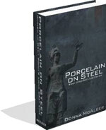 Porcelain On Steel Book Cover